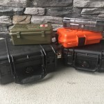 Pelican and military surplus travel cigar humidors