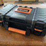 Ridgid Pro Organizer Tool Box Travel Humidor