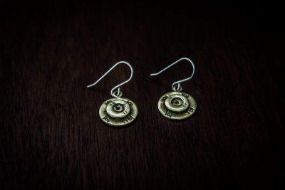 AE3 - bullet earrings