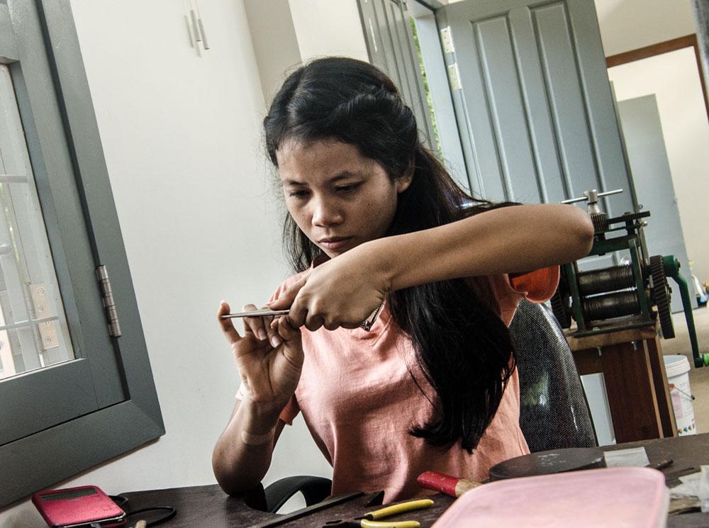 Ammo Jewellery Siem Reap, Cambodia - Team - Nary