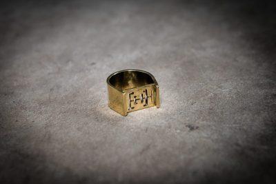 TR4 - Brass Angkor Wat Signet