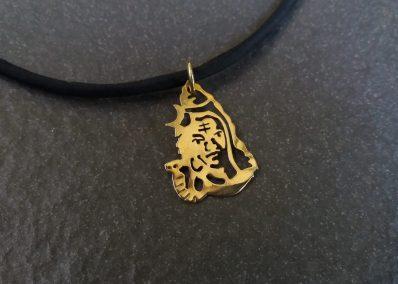 AD5 - Brass Shiva pendant