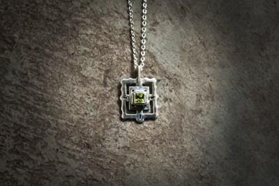 TPB3 - Silver Bayon with peridot