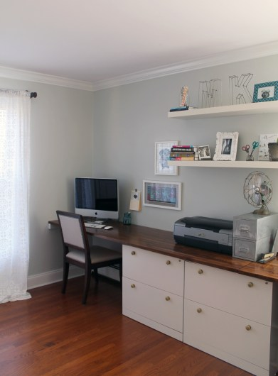 Tour This Amazing Fashion Blogger S Transitional Home Office: Ammo The Dachshund