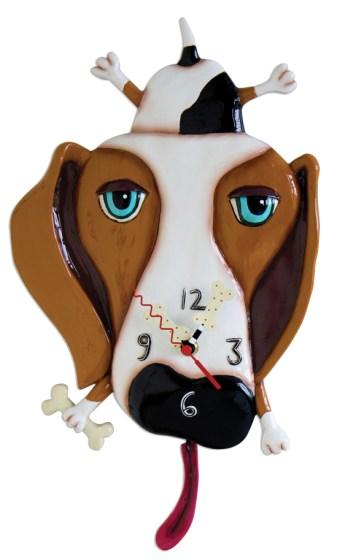 Friday Fetch: Dog Clocks from Allen Designs via Ammo the Dachshund