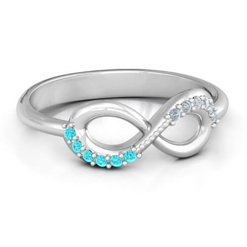 Infinity Accent Ring