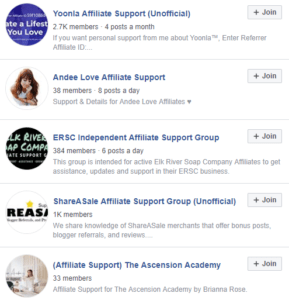 Having a Facebook affiliate support group could help you recruit quality affiliates