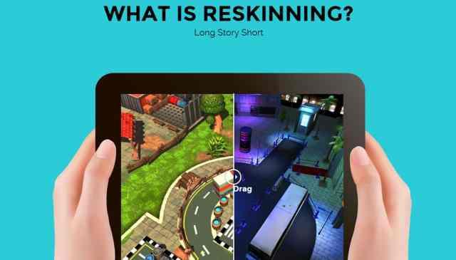 reskinning-apps ما هو الريسكين Reskin؟ هل هو مقبول في مجال التطبيقات؟