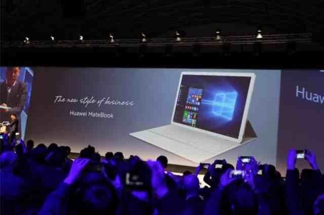 Matebook إطلاق Huawei MateBook: خطوة قد تعود على هواوي بالخسائر