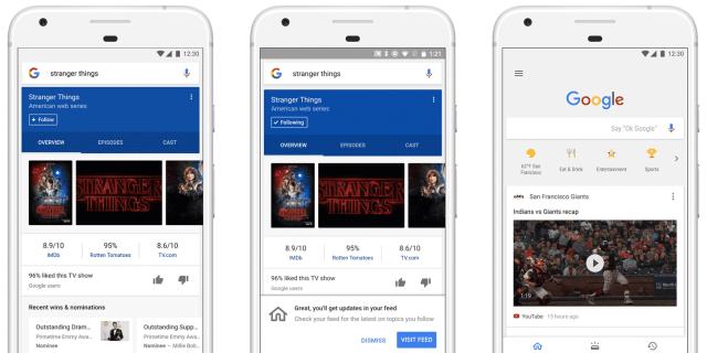 google-feed-montage كل شيء عن ميزة تغذية الأخبار news feed في جوجل المقتبسة من فيس بوك
