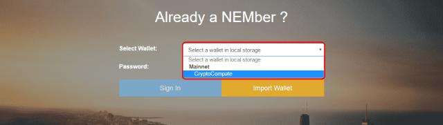 Nano-Wallet-4 كيفية شراء عملة NEM أو العملاق النائم XEM بسهولة