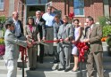 Kendra Peek/kendra.peek@amnews.com Ribbon-cutting ceremony ended the grand opening of the Goodall Apartments in Danville on Friday