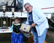 Rick Waldon won the One Bite award at the Junction City Chili Cook-Off.