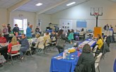 Kendra Peek/kendra.peek@amnews.com About 40 vendors attended the first FIGHT substance abuse resource fair on Tuesday.