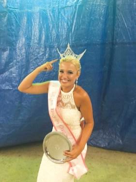 Miss Boyle County Fair Kendall Terry.