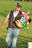 Jason Netherton, of Stanford, has an armful of stuffed animals he won at the midway games Tuesday night at the Boyle County Fair.