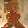 Solid Female Figure, 300 BC-300 AD (Exhibit Image) Shaft Tomb Culture West Mexico, Nayarit Private Collection