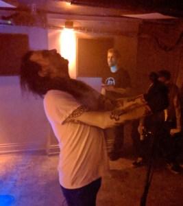 Spit Mask live