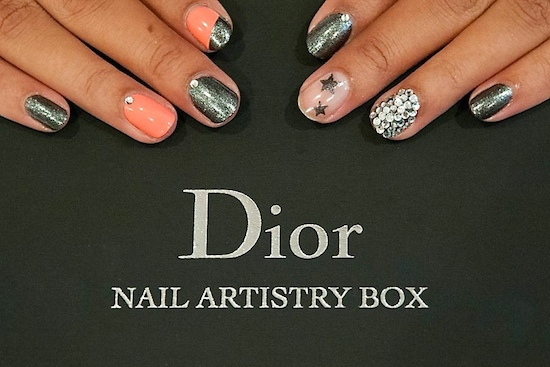 The Dior Nail Artistry Box Review Art Gems And Stencils