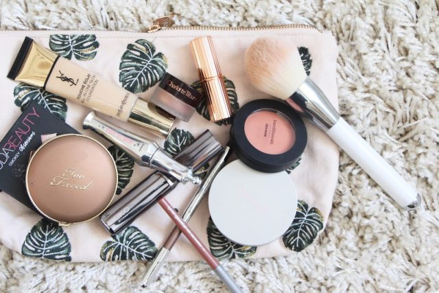 summer makeup bag 2018