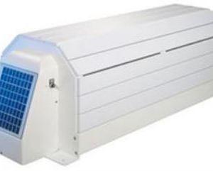 Modello esterno con calotta di protezione in PVC color bianco: Narbonne solare-0