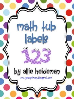 Mission Organization Teacher Style: 18 Ideas to Organize Math Manipulatives from www.amodernteacher.com