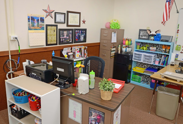 Superb Organizing Your Teacher Area From Www.amodernteacher.com Images