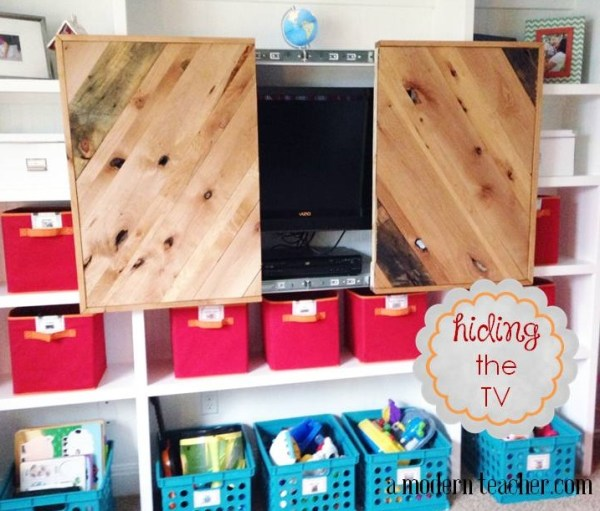 DIY TV Screen www.amodernteacher.com