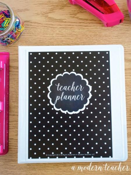 A Modern Teacher BW Chalkboard