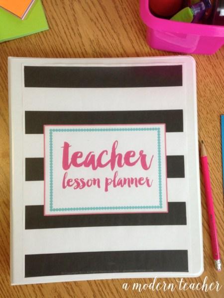 A Modern Teacher Planner