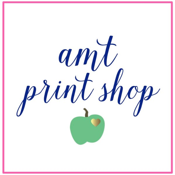 a modern teacher print shop