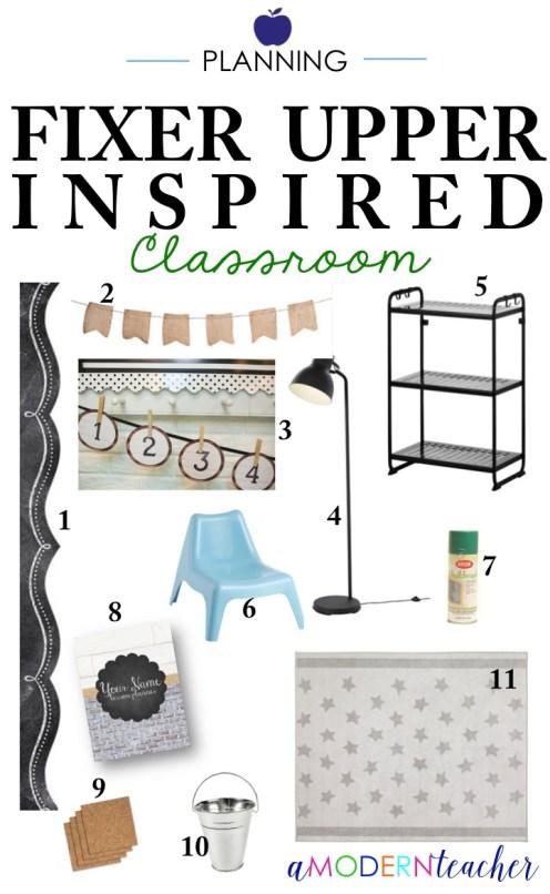 Fixer Upper Inspired Classroom Decor