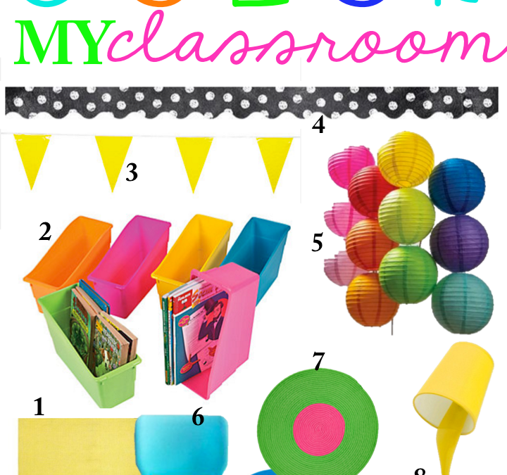 Classroom Planning: Color My Classroom!