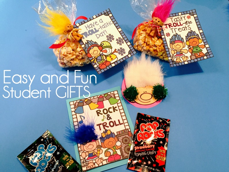 Quick and Easy Student Gifts with Trolls!
