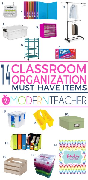 Classroom Organization Must-Haves