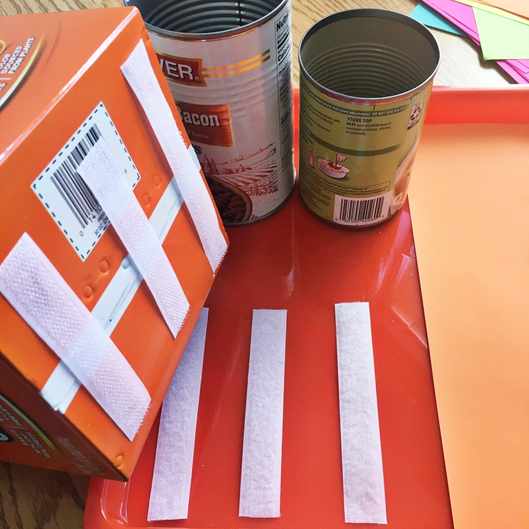 teacher DIY differentiating stations by color with astrobrights