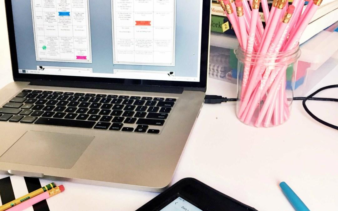 Google Drive Classroom Planner - A Modern Teacher