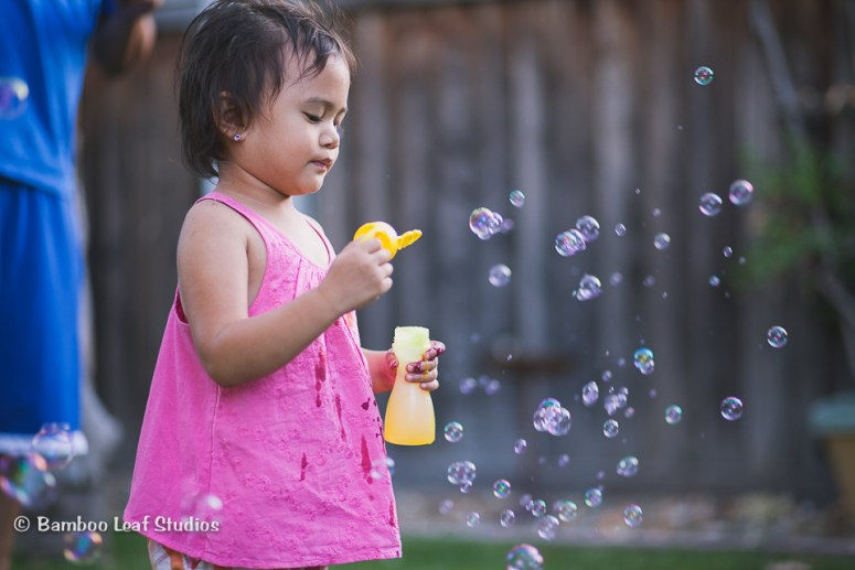 Bubbles - Summer Photography