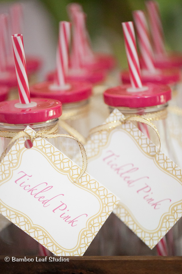 Pink & Gold Party Favors