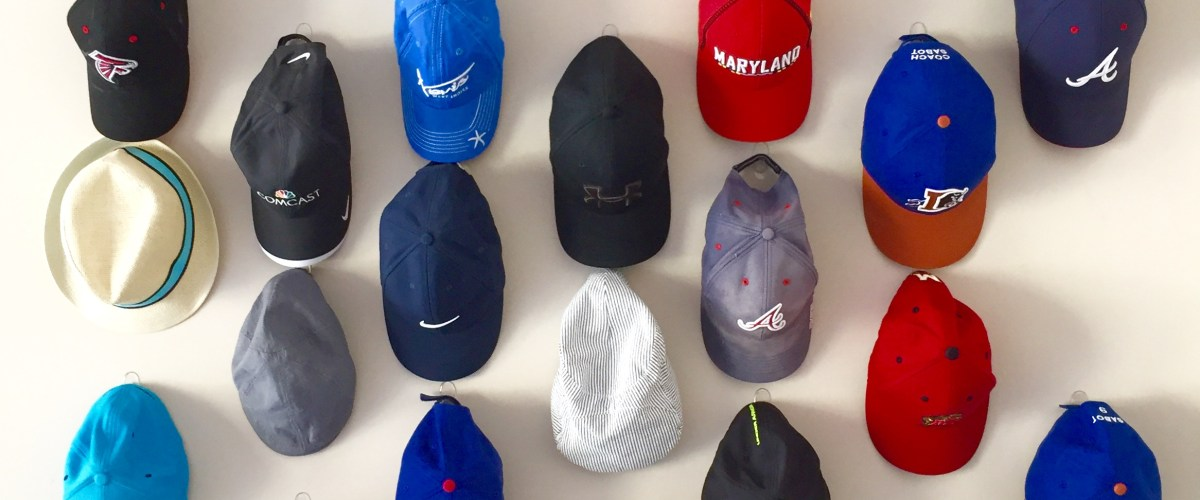 Display Your Hats on a Hat Wall