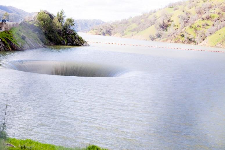 Morning Glory Hole Lake Berryessa