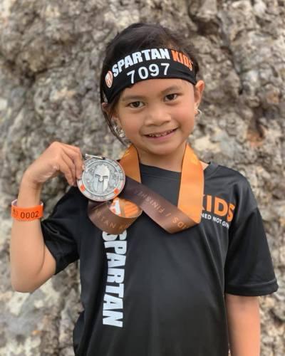 Spartan Kids Race Style