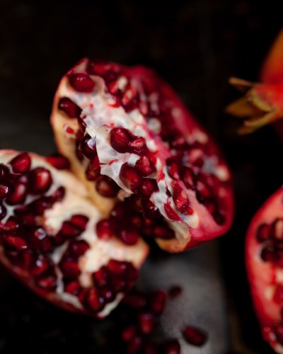 Pomegranates + a Mental Break