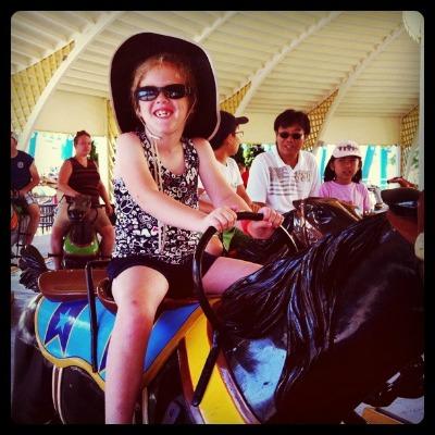 Riding Cedar Downs