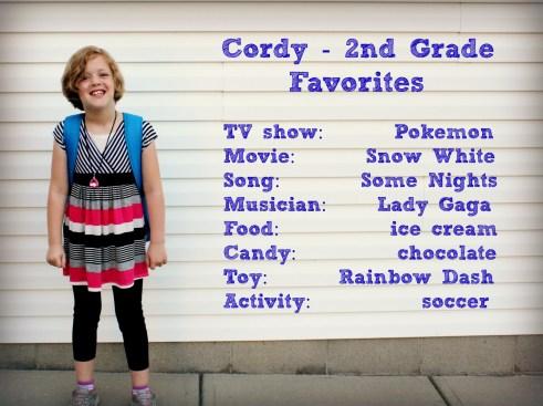 Cordy - 2nd grade