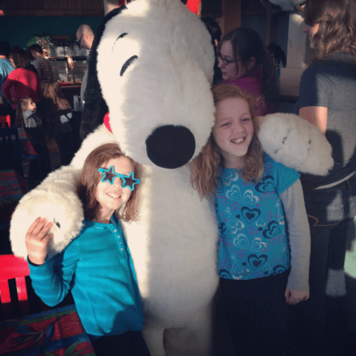 Snoopy at Castaway Bay