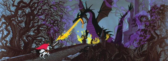 Maleficent as dragon