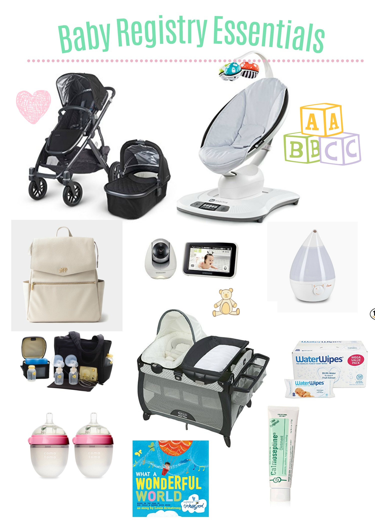 Baby Registry Essentials - A Mom's Daily Dosage