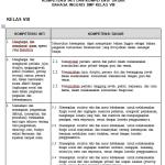 Download RPP Bahasa Inggris Kelas 8 SMP MTs Kurikulum 2013