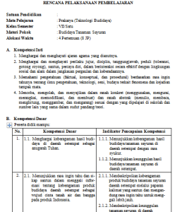 Rpp Pkn Kelas 8 Kurikulum 2013 Revisi 2017 Guru Ilmu Sosial